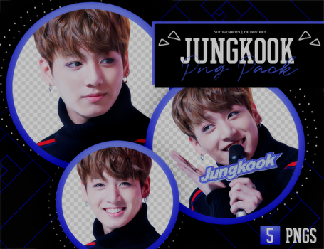 PNG PACK: JungKook (BTS) #7 by Hallyumi