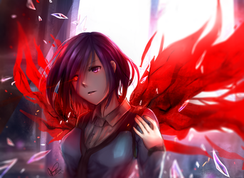 Touka - Tokyo Ghoul by chalollita