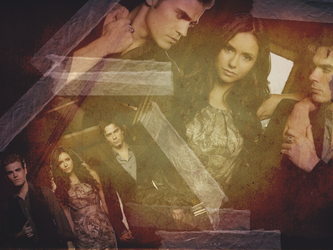 The Vampire Diaries Wallpaper by jennyriot