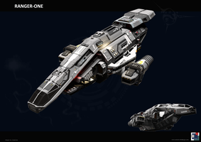 Battle Cruiser Ranger-One by MASCH-ART