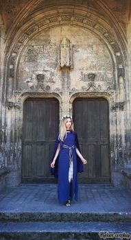 Medieval dress (Guinevere inspired) by Phobos-Cosplay