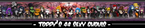 TOPPY'S 44 SEXY GHOULS OF THE NIGHT FINISHED by ShoNuff44