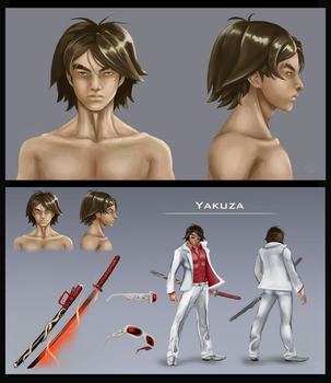 Character sheet Yakuza by Pisces3Ferver