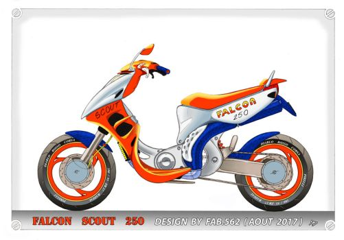 scooter falcon 250 by fab562