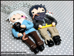 Shion and Nezumi BFF Set by GrandmaThunderpants