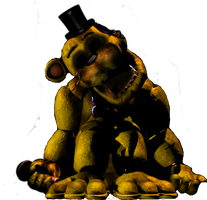 Withered Golden Freddy ( FNAF 1 ) by MutationFoxy