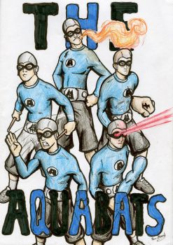 The Aquabats by kjmarch