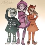 Trick or treaters by MissPaigeChristine