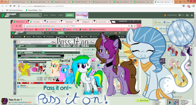 Pass It On! by MagicPebbles