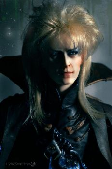 Jareth The Goblin King in Dark Armor by Katyok