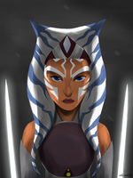 The Padawan Lives// Ahsoka Tano by StarryWinters