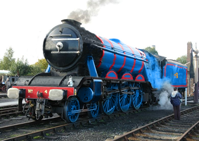 Realistic Gordon the Big Blue Engine V2 by TheLogoCooler