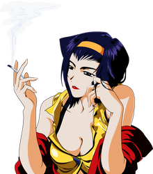 Faye Valentine vector by mike-rmb