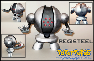 Registeel Papercraft