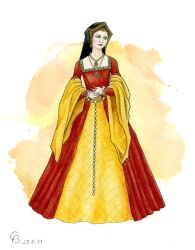 Tudor Gown by Yosephyne