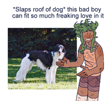 Slaps Roof Of Dog by iLee-Font