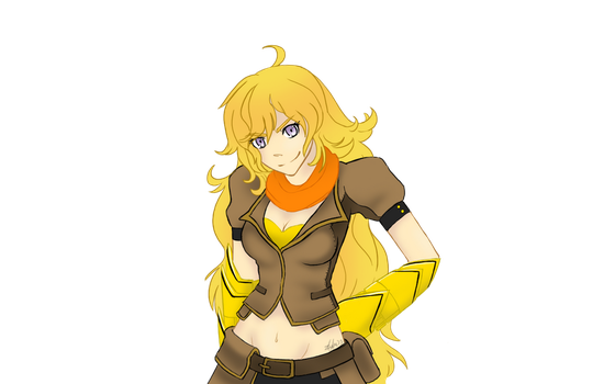 Yang Xiao Long by A-Fistful-Of-Kittens
