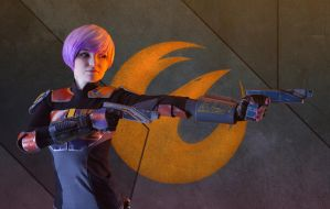 Sabine Wren Cosplay 6 by mblackburn
