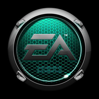 Pimped EA Crysis Logo - cyan by CNARIO