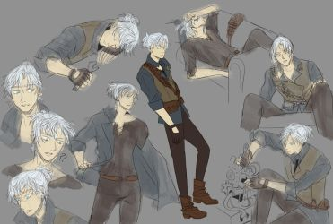 Commission - Karga Concept Page by bertalina