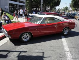Red Charger by DrivenByChaos