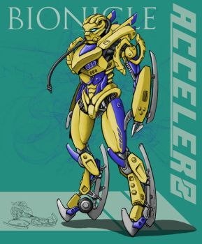 BD Bionicle Accelero Aiji by c-hsu-run