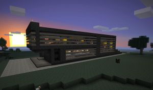 Minecraft Simple Modern House by poste744