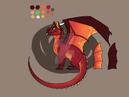 Dragon hatchling Auction [CLOSED] by TheAdoptArtist