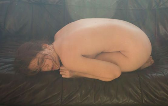 Couch Nude 5 by AimeeStock