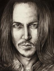 Johnny Depp by dawndelver