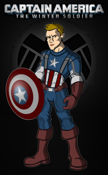 Captain America the winter soldier by CPD-91