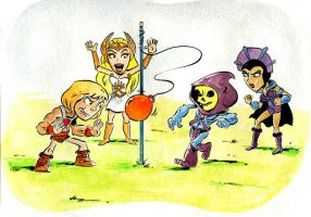 Heman Tetherball by littlereddog