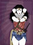 Amazon (Wonder Woman / Patrick Nagel) by Rabittooth