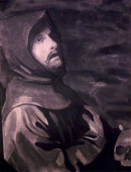 Saint Francis in Ecstasy by Antwanio182