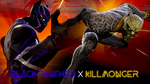 Black Panther and Killmonger for MVCI by Fewtch