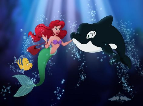 Ariel and Spot by FreeWingsS