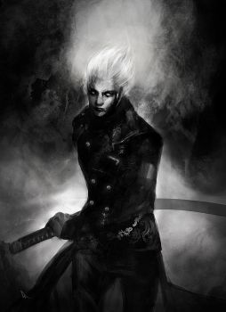 Hollow Vergil - Devil May Cry by SiriCC