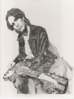 Jeff Buckley Tribute Sketch by blissfullywanting