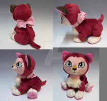 Floppy Fanart Dinah Plush by WhittyKitty