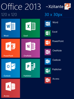 Microsoft Office 2013 [For OblyTile] by Xzitante