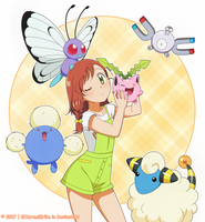 CM: Shelly131 ~ Miriam with her pokemon ~