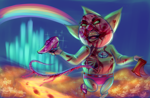 Attack on Tingle by SwedenLena