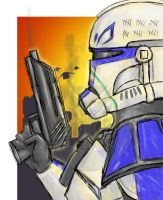 Captain Rex by 7hot-feanorians