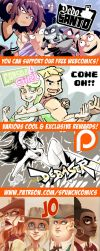 Support Spunch Comics via Patreon! by spunchcomics