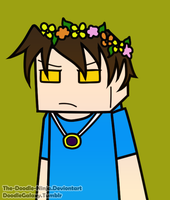 Skybrine Flower Crown c: by The-Doodle-Ninja