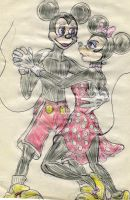 Mickey and Minnie by theaven