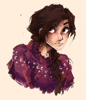 Reyna in a christmas jumper by Dreamsoffools