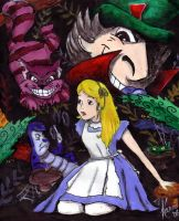 Alice In Wonderland - finished by Starless-Night