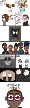 Black Panther Experience Comic by Nerdygirl311