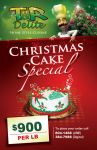 Christmas Cake Flyer by owdesigns